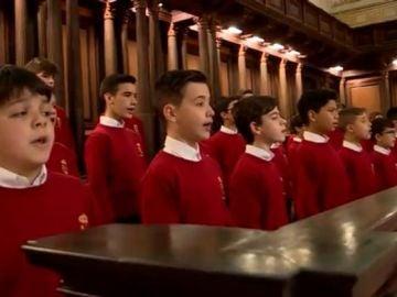 Coro escolanía de Monasterio de El Escorial