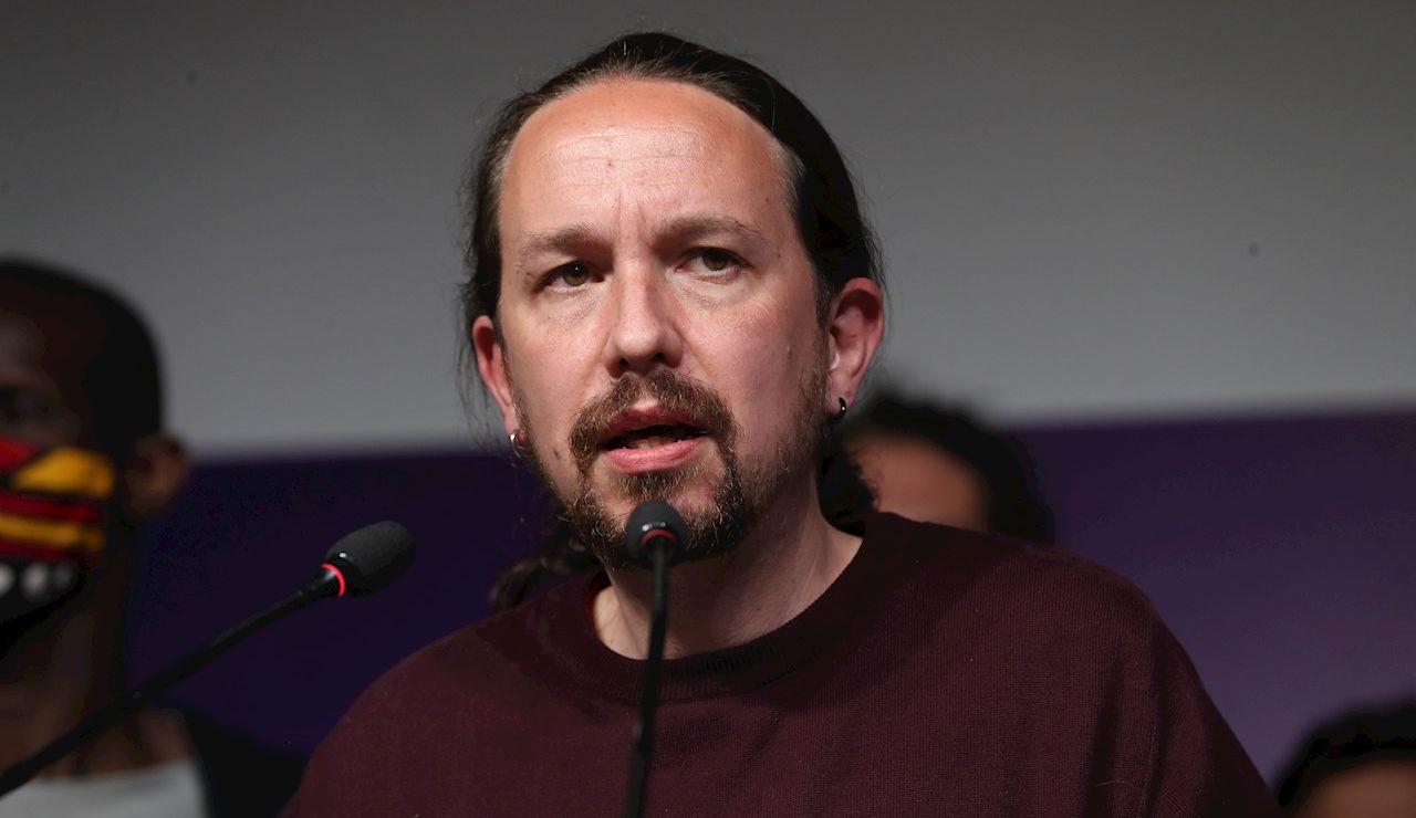 El exlíder de Unidas Podemos Pablo Iglesias