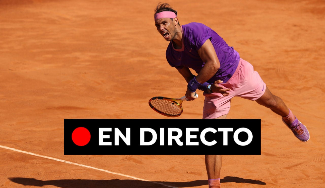 Shapovalov - Nadal: Partido de tenis del Masters 1000 de Roma hoy, en directo