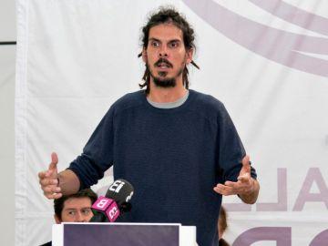 Alberto Rodríguez anuncia que deja la Secretaría de Organización de Podemos