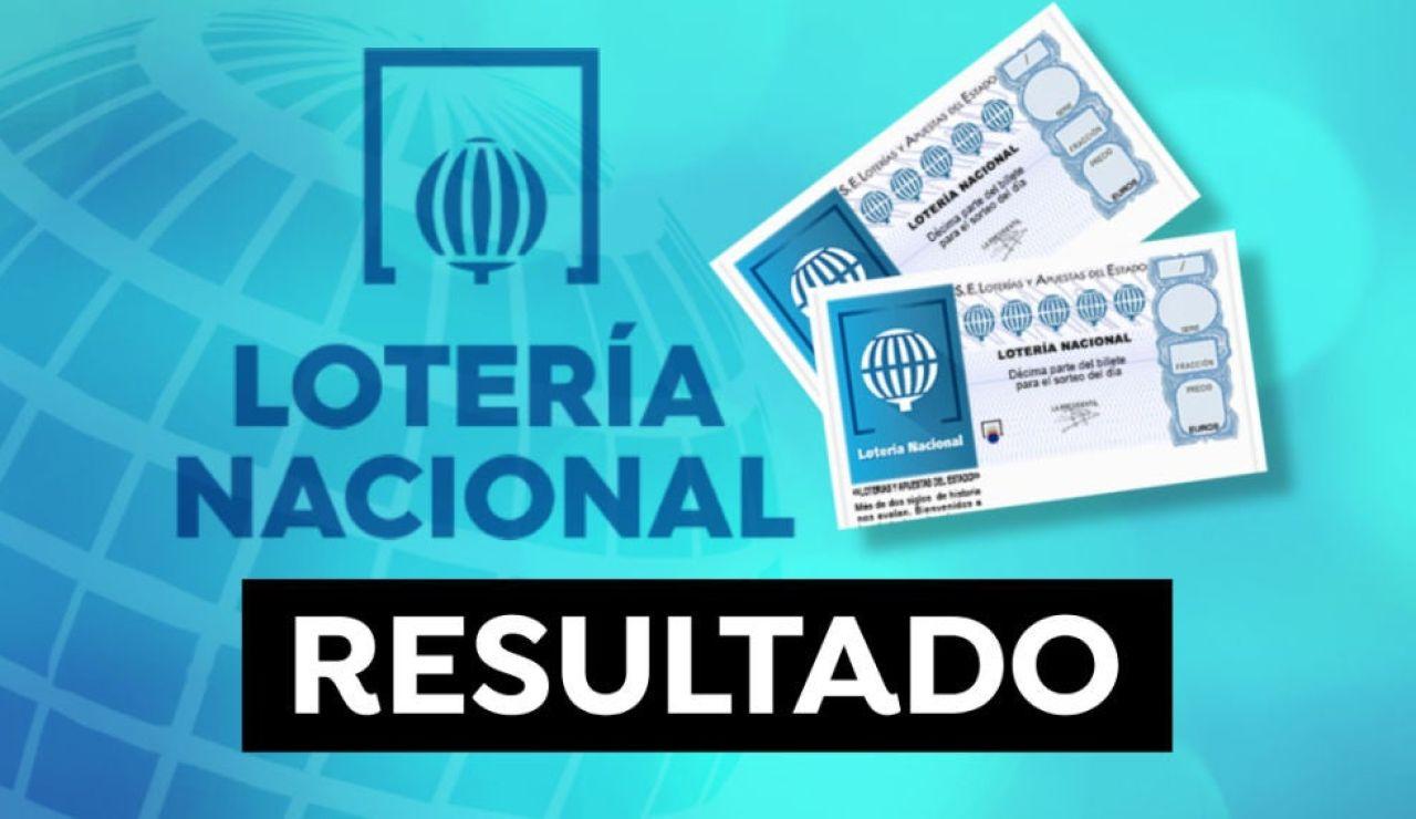 Comprobar Lotería Nacional hoy: Resultados del sorteo del jueves 13 de mayo en directo