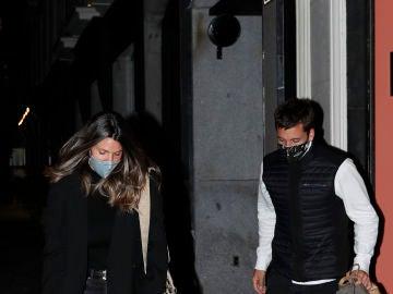 Laura Matamoros y Benji Aparicio, en Madrid