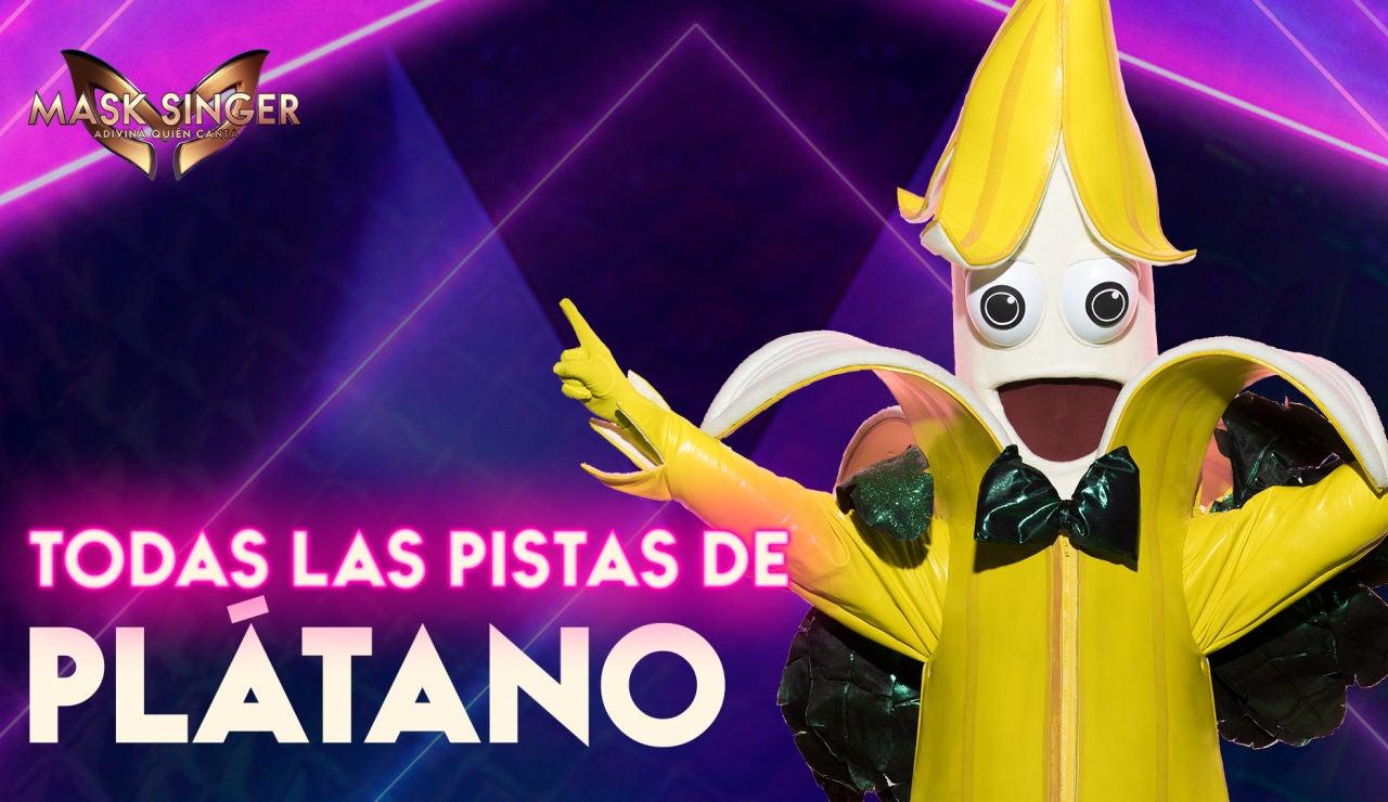 Pistas y teorías sobre el Plátano de 'Mask Singer'