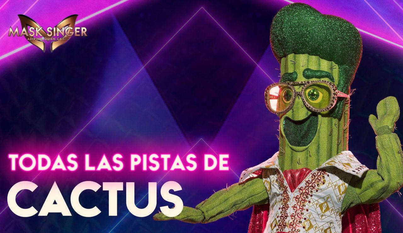 Todas las pistas sobre el Cactus de 'Mask Singer'