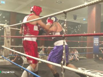 Boxeo contra el cáncer infantil