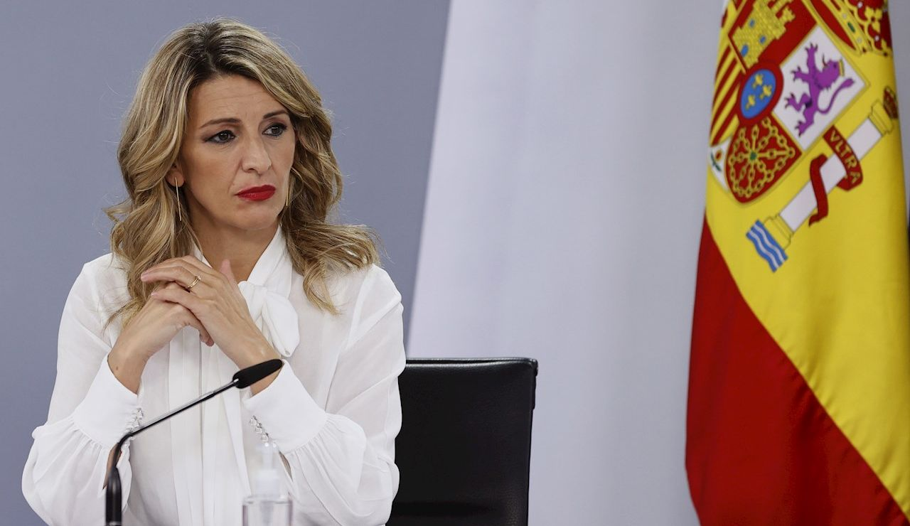 Yolanda Díaz avisa al Banco de España de que no abaratarán los despidos