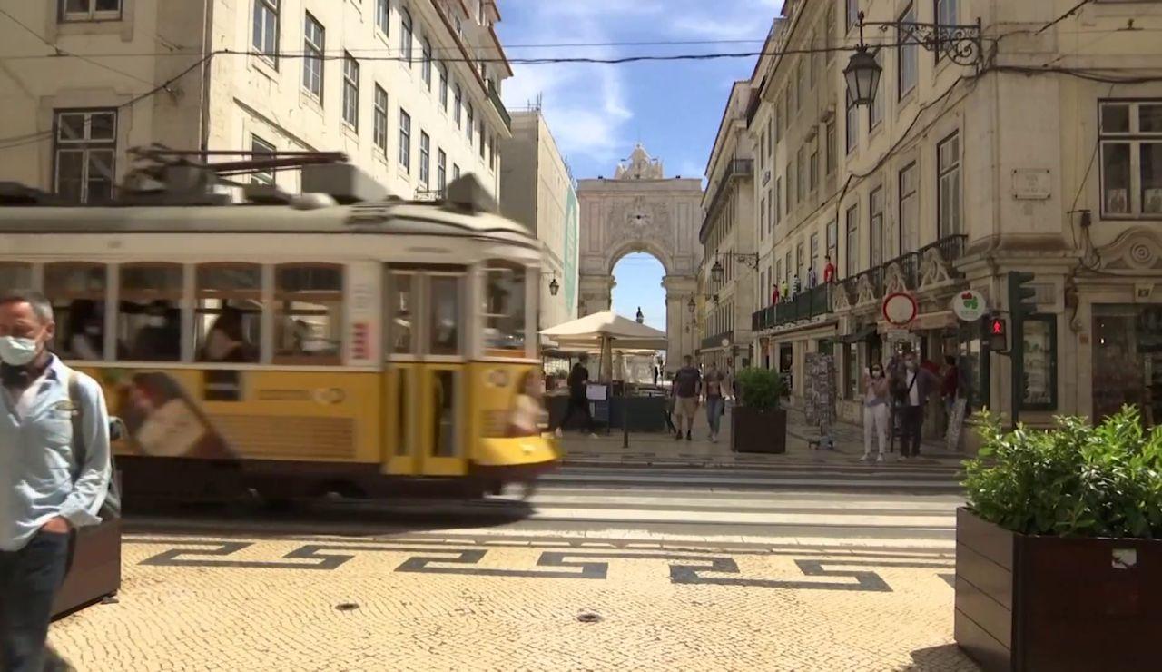 Portugal acceso turistas Reino Unido