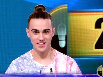 Borja, a un 'pico' de conquistar su quinto Duelo Final: lucha por 28.000 euros en '¡Ahora caigo!'