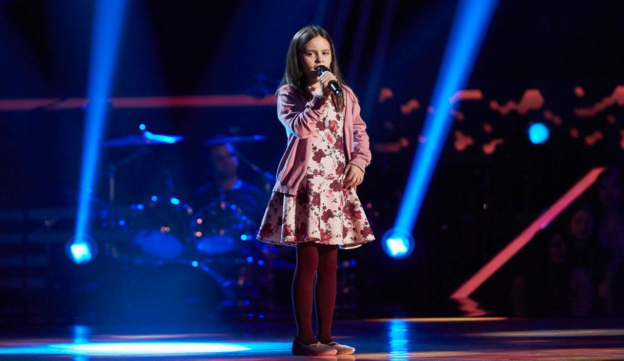 Daniella Sánchez canta 'Sueña' en las Audiciones a ciegas de 'La Voz Kids'
