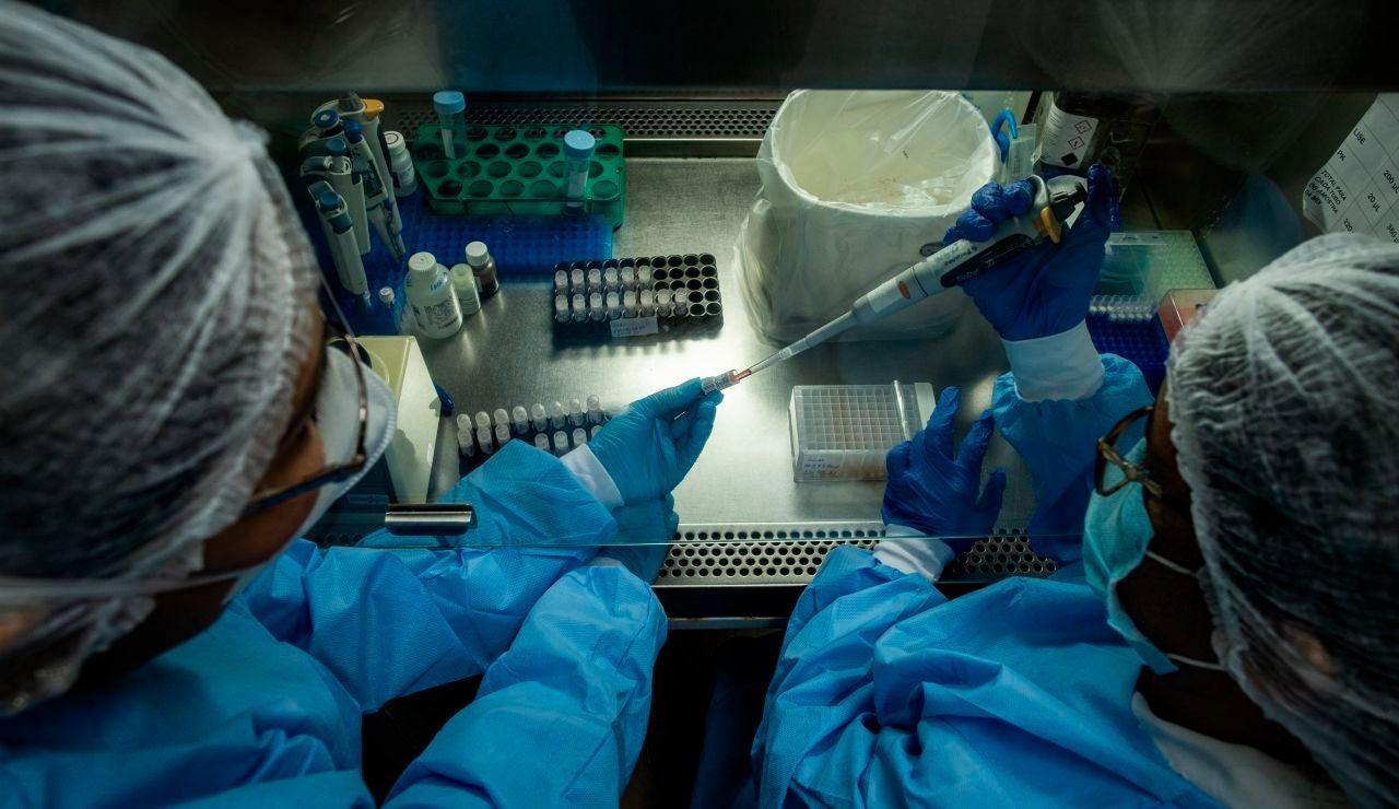 Laboratorio en el que se investigan distintas cepas del coronavirus