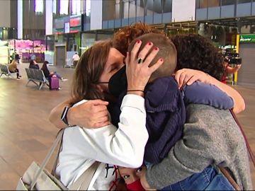 Reencuentros familiares en toda España en el primer fin de semana sin cierres perimetrales