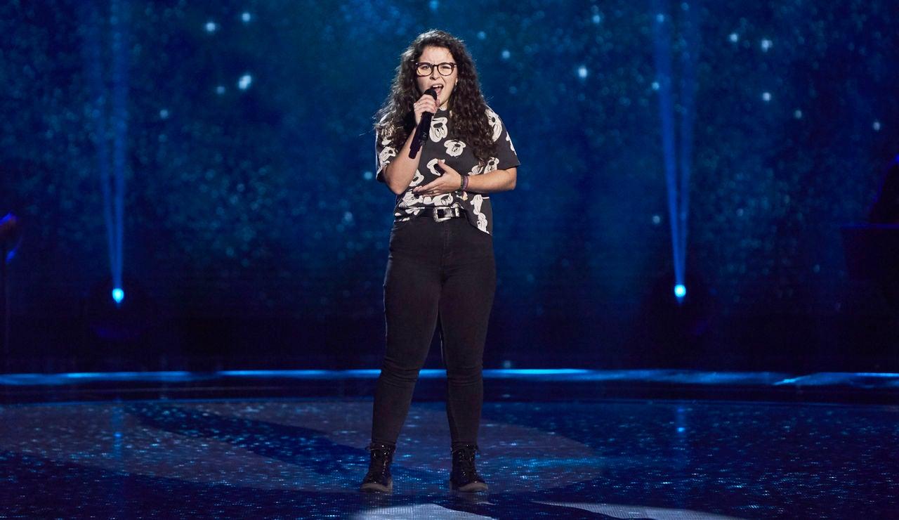 Rosario González canta 'Idontwannabeyouanymore' en las Audiciones a ciegas de 'La Voz Kids'