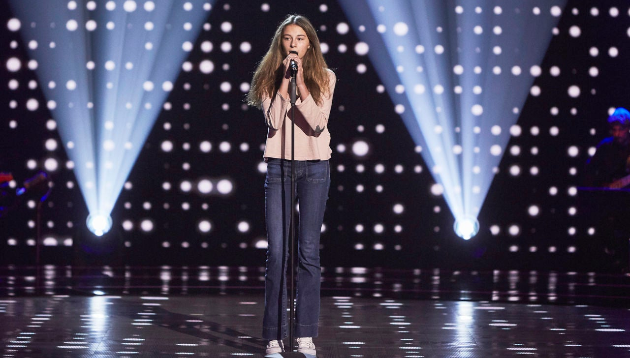 Carmen Puente canta 'Love is a losing game' en las Audiciones a ciegas de 'La Voz Kids'
