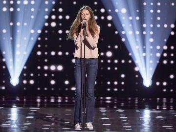 Carmen Puente canta 'Love is a losing game' en las Audiciones a ciegas de 'La Voz Kids'