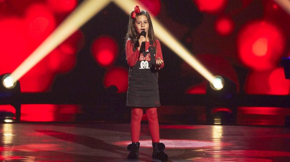 Nazaret Moreno canta 'Señora' en las Audiciones a ciegas de 'La Voz Kids'
