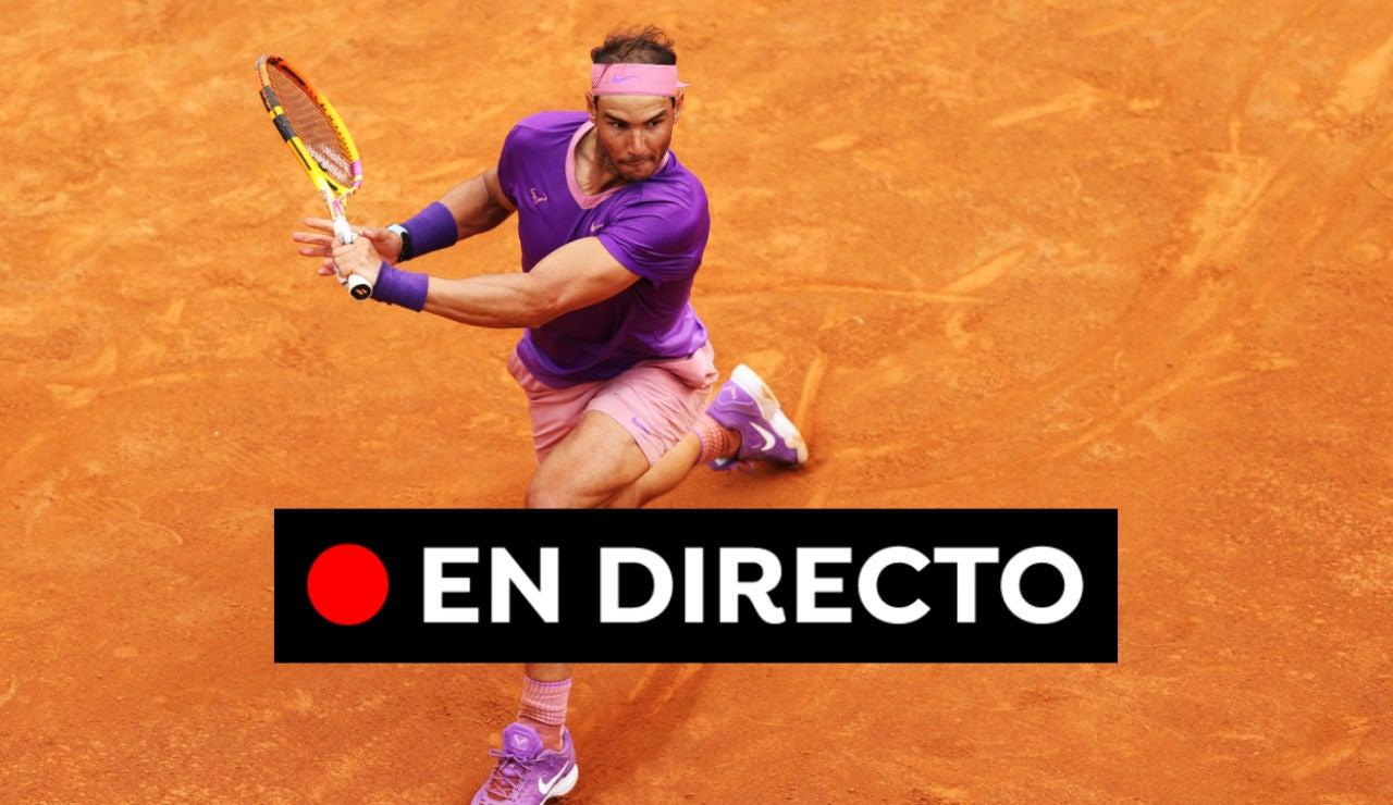 Zverev - Nadal: Resultado del Masters de Roma hoy, en directo
