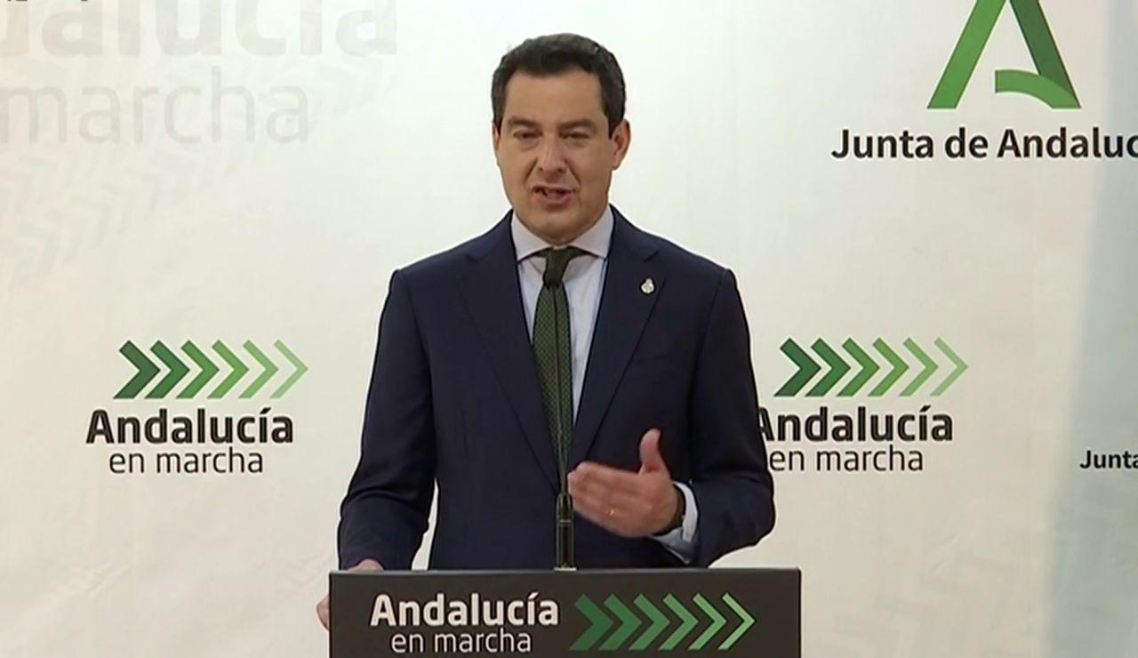 Juanma Moreno pide responsabilidad y lanza una campaña para concienciar a los jóvenes