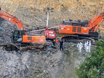 Termina la búsqueda en Zaldibar sin encontrar al trabajador Joaquín Beltrán 15 meses después del derrumbe del vertedero