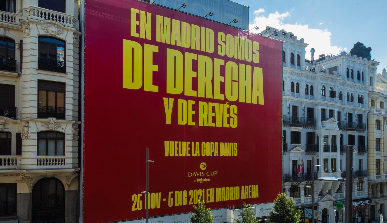 El provocador cartel de Gerard Piqué para la Copa Davis en Madrid