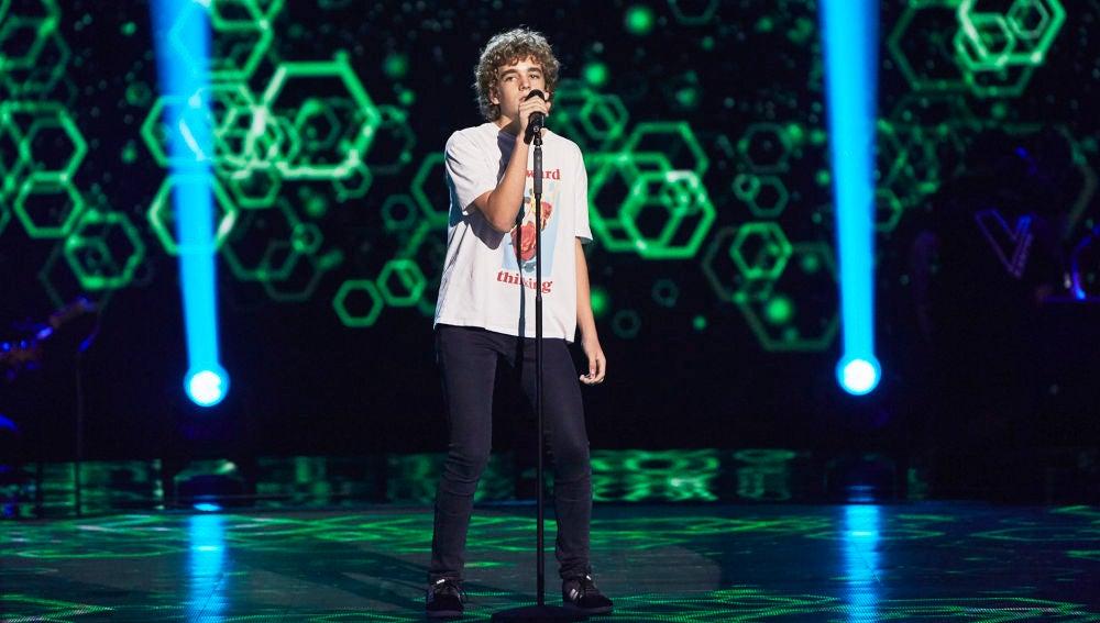 Marcos Ricbour canta 'Ex's and Oh's' en las Audiciones a ciegas de 'La Voz Kids'