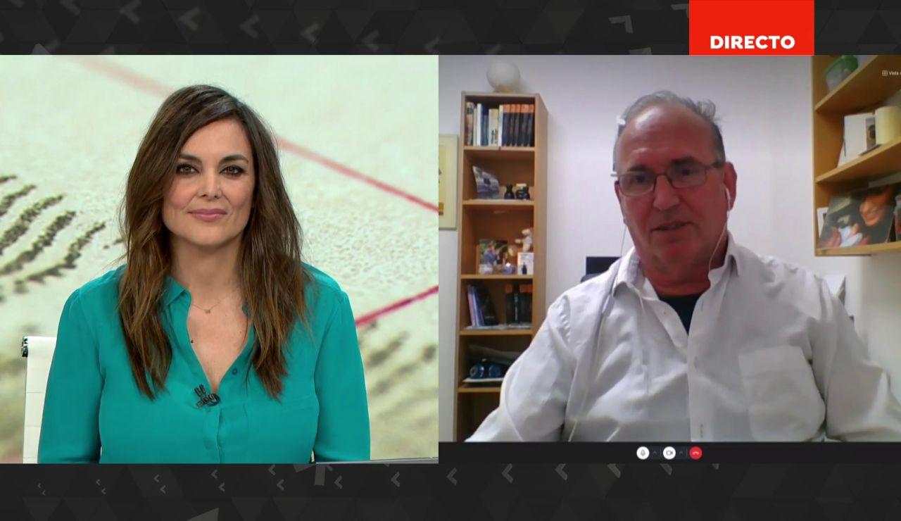 """Joaquín Amills, portavoz de la madre de las niñas desaparecidas en Tenerife: """"Cada hora crece la incertidumbre"""""""