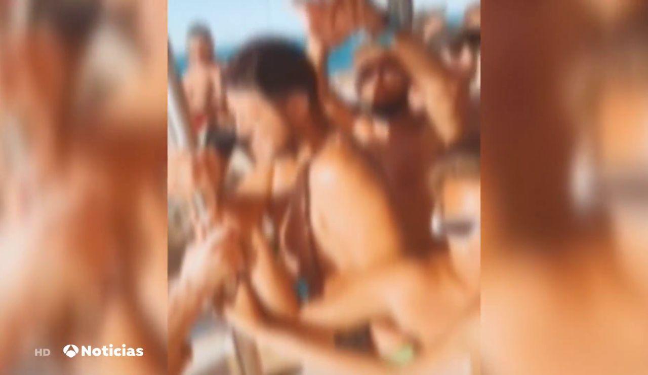 La Guardia Civil investiga una fiesta ilegal en un catamarán en la costa de Gran Canaria