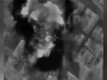 Así ha sido el bombardeo a la casa del 'número 2' de Hamás en Gaza