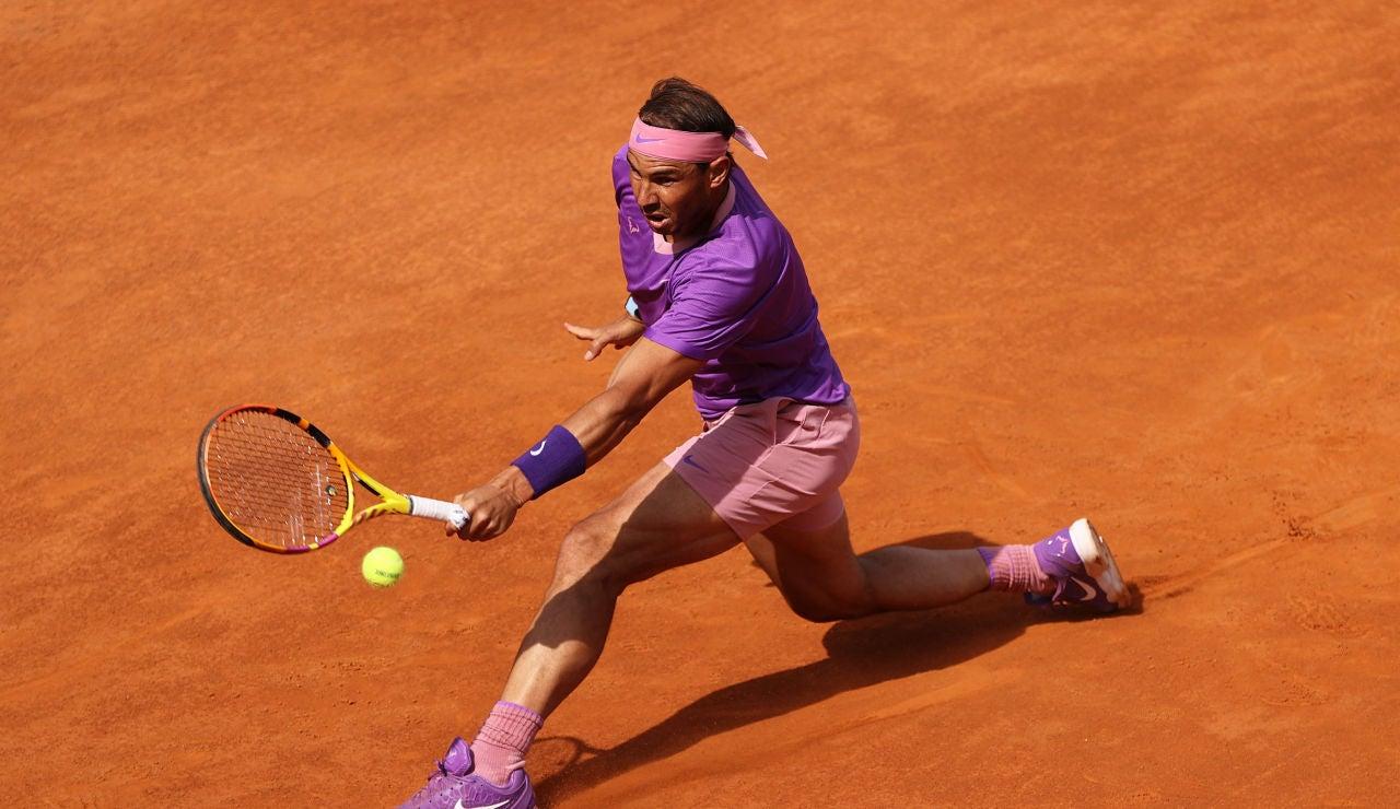 Nadal sobrevive a los cañonazos de Opelka y se mete en su 12º final del Masters de Roma