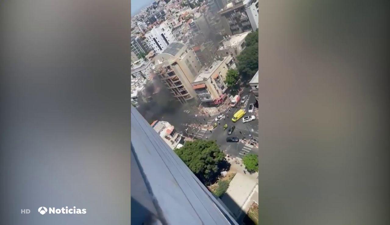 Israel responsabiliza al grupo palestino Hamás de las muertes de los civiles en sus bombardeos