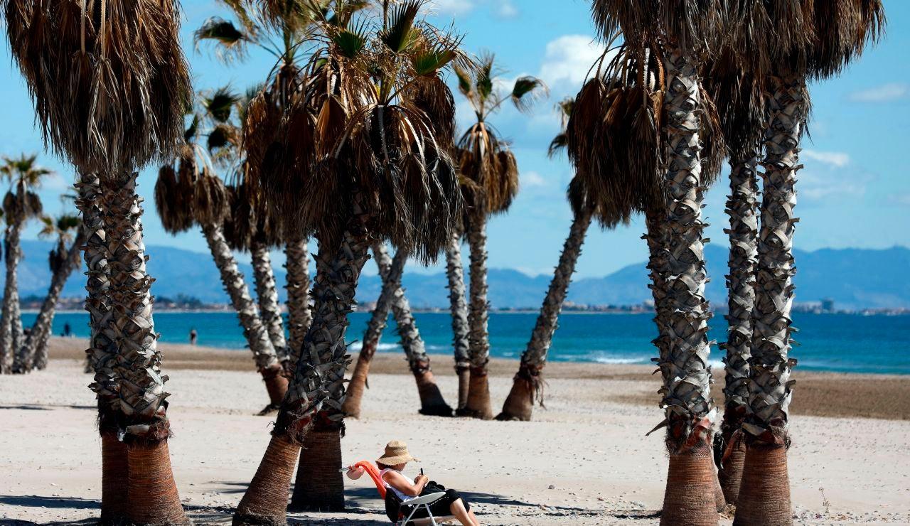 Una de las playas de España con bandera azul