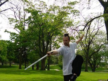Jake Pinnick, el americano del Medio Oeste que enseña kung fu en las montañas de China