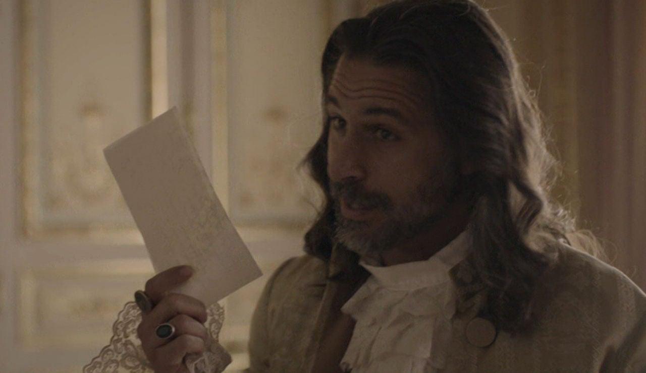La carta que cambiará el futuro de Castamar, en manos de Enrique de Arcona