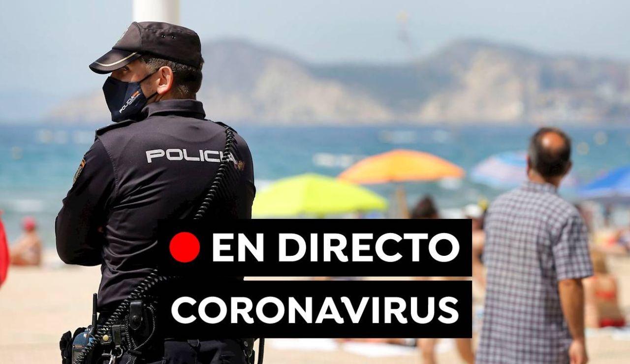 Coronavirus España: Última hora de la vacuna y las restricciones sin estado de alarma, en directo