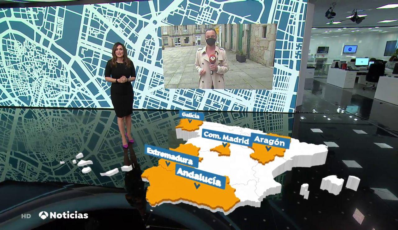 Solo tres municipios mantienen el cierre perimetral en Galicia