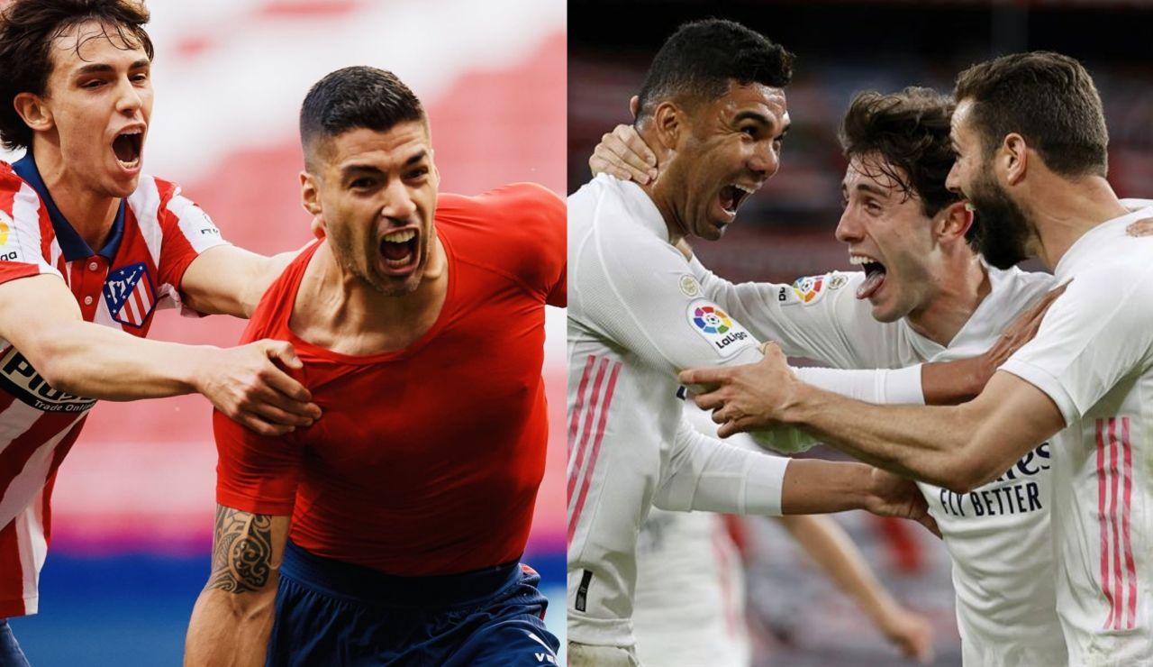 VOTA: Atlético o Real Madrid, ¿quién ganará la Liga Santander?