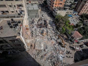 Suben a 192 muertos en Gaza tras una nueva noche de bombardeos israelíes