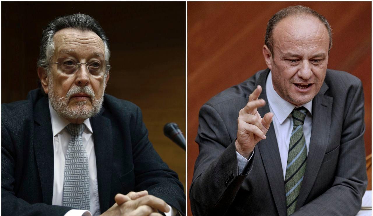 El exvicealcalde de Valencia Alfonso Grau y el exsubdelegado Rafael Rubio