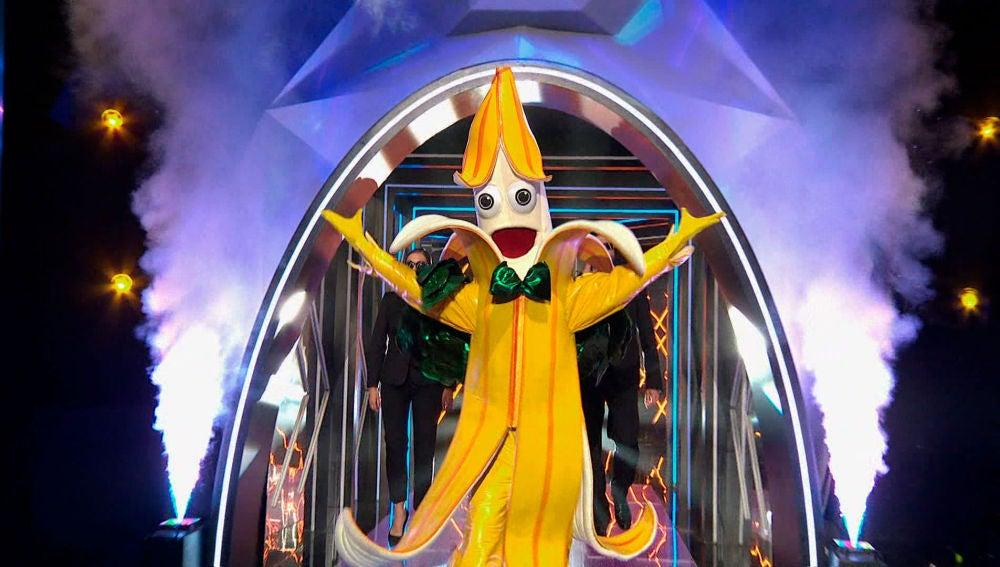 """Plátano trae el buen rollo a 'Mask Singer': """"No pienso tropezar en el escenario"""""""