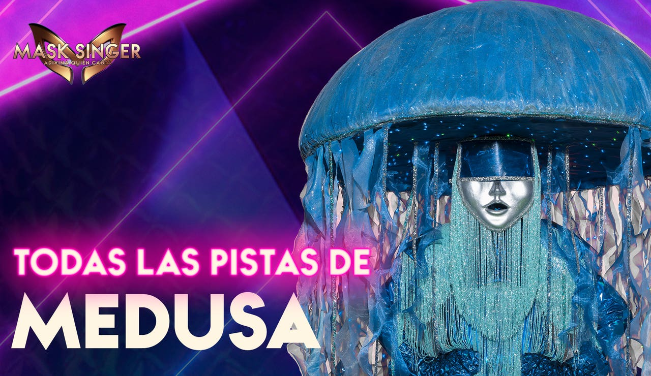 Todas las pistas sobre la Medusa de 'Mask Singer 2'