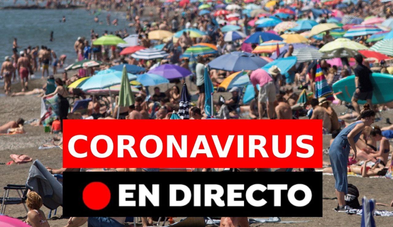 Coronavirus España: Última hora de los contagios, vacunas y restricciones sin estado de alarma, en directo