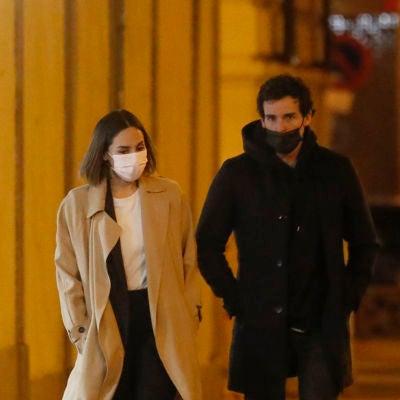 Tamara Falcó y su novio, Íñigo Onieva, en Madrid