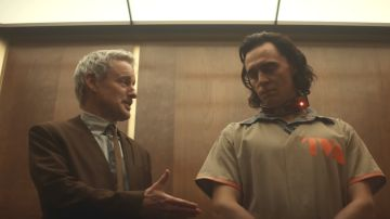 Owen Wilson y Tom Hiddleston en 'Loki'