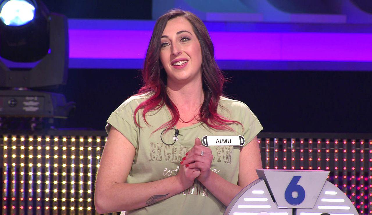 Almu revela su romántica historia en '¡Ahora caigo!': ¡unidos por un karaoke online!