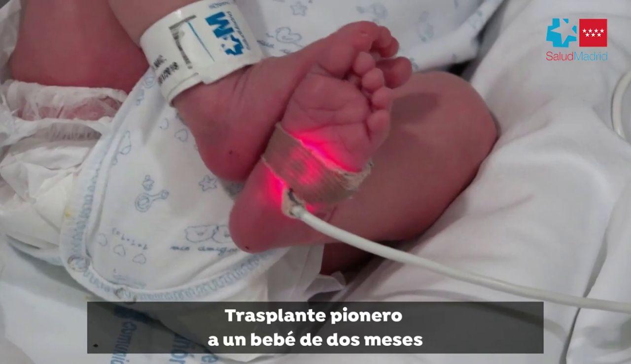 El Gregorio Marañón realiza el primer trasplante a una bebé en asistolia y grupo sanguíneo incompatible