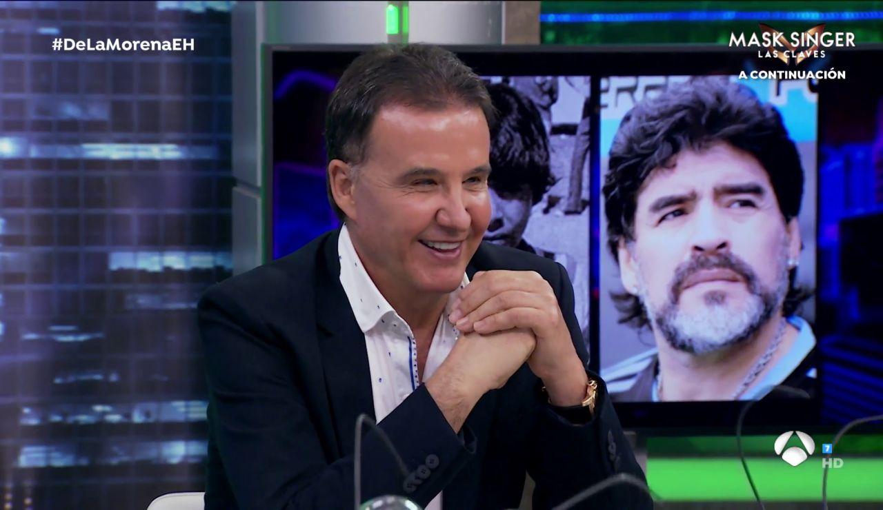 ¿Será capaz José Ramón de la Morena de reconocer a los futbolistas de pequeño? Las hormigas le ponen a prueba