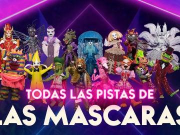 Todas las pistas sobre las máscaras de 'Mask Singer 2'