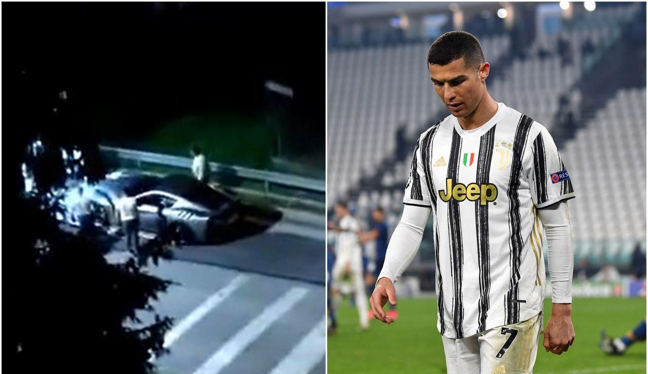 Cristiano Ronaldo se lleva sus coches de lujo de Turín y dispara los rumores sobre su salida de la Juventus