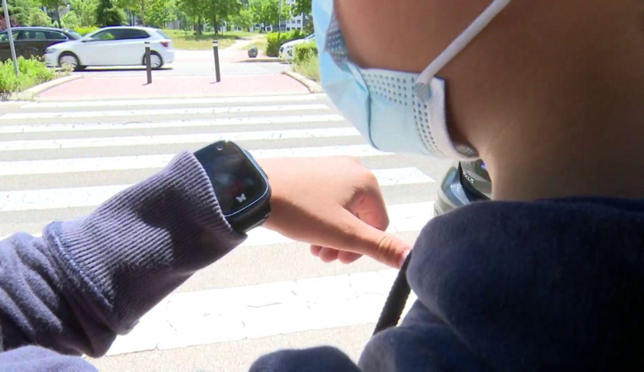 Relojes para localizar a los hijos