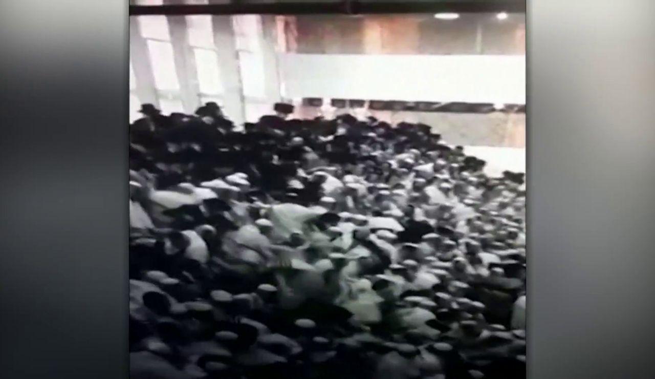 Derrumbe de una grada en una sinagoga en Cisjordania