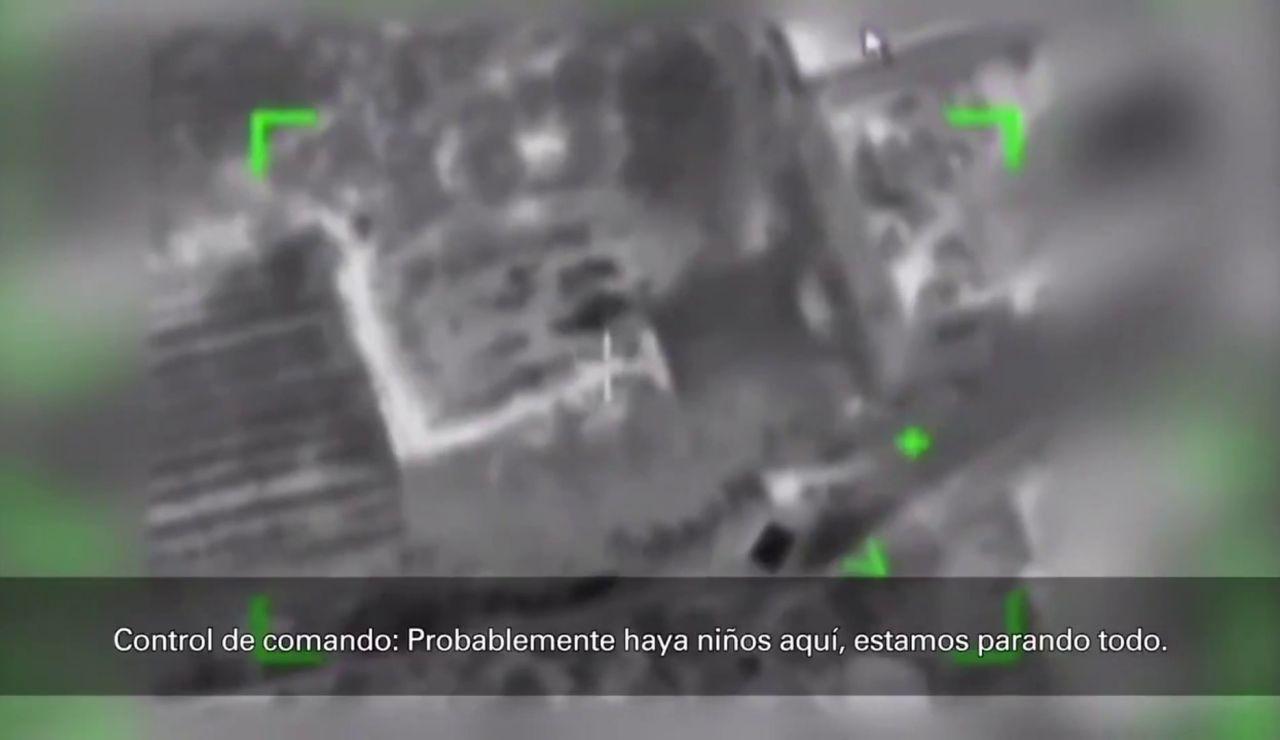 El momento en que un piloto israelí decide no bombardear un edificio de Gaza porque hay niños